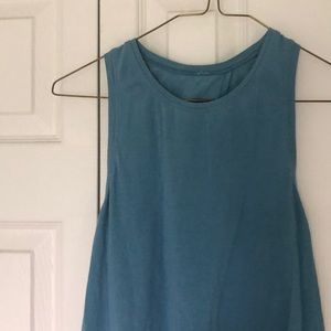 Lululemon tank with open back